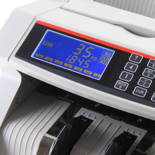 3-Cashtech 5100 sedelräknare